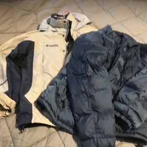 Columbia men's winter coat